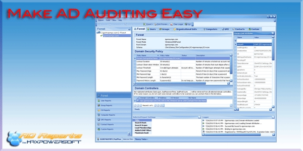 Make AD Auditing Easy