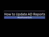 How to Install AD Reports